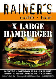 4 Rainers Hamburger Flyer A6
